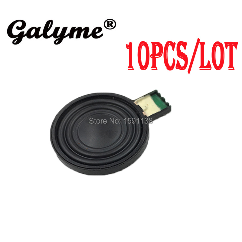 10pcs/lot Hot Sale Black Color Audio Replacement Part Fit GBGameboy Advance SP For GBASP Speaker Boy Game Console Handheld Case