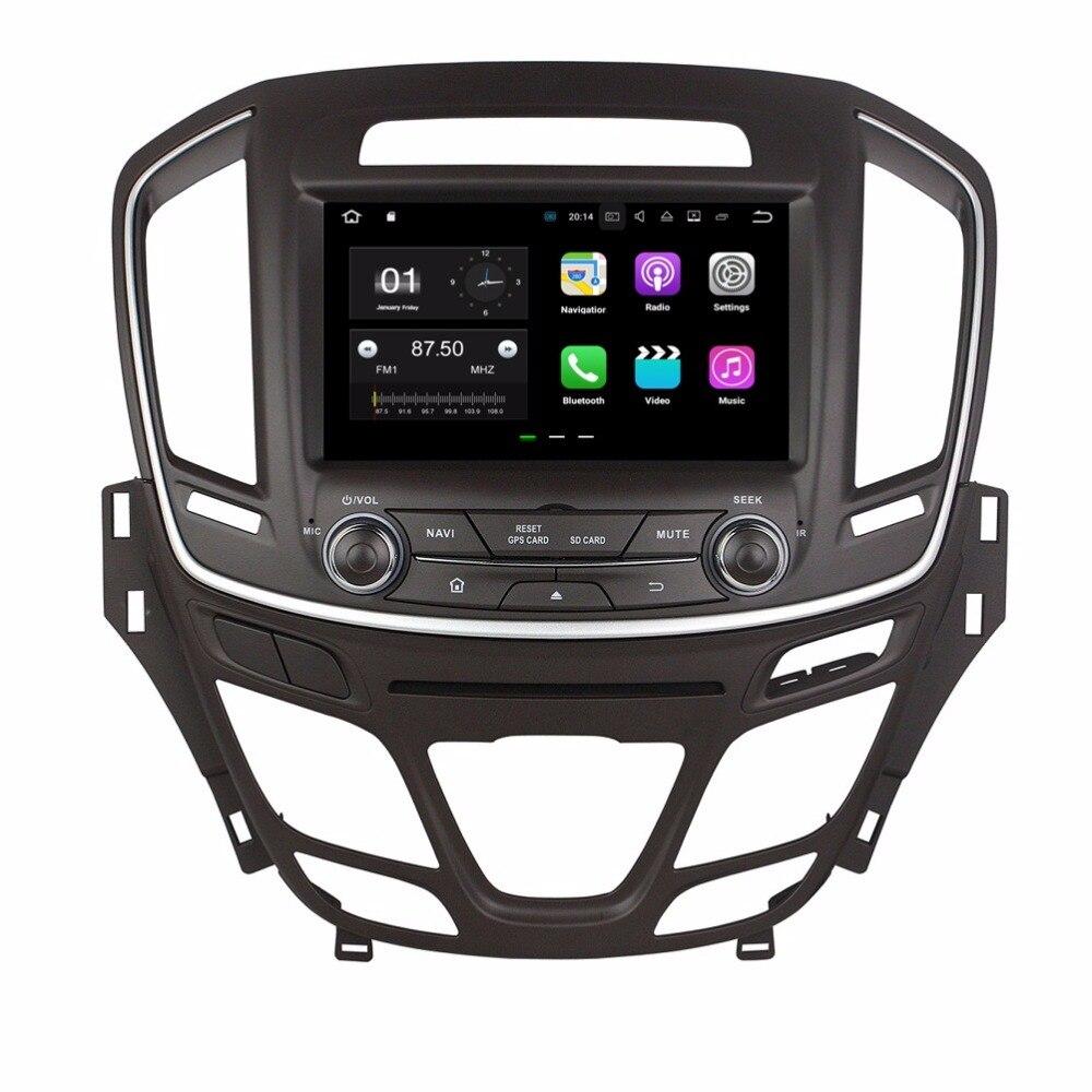 8 &#171;Android 7.1 автомобиль Радио DVD GPS Мультимедиа Автомагнитолы для Opel Insignia 2014 2015 с 2 ГБ Оперативная память <font><b>bluetooth</b></font> WI-FI USB Зеркало-link