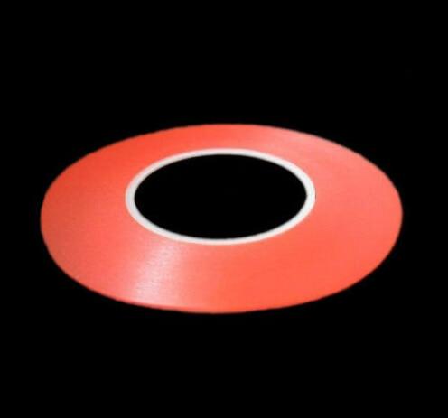 красная прозрачная лента