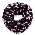 El envío gratuito! la moda de nueva Westie/Scottie Dog Imprimir bufanda animal de la manera bufanda de la impresión de poliéster bufanda