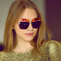 Metallic Butterfly Women Sunglasses Squre Designer Rimless Shades Female Glasses Oculos De Sol Retro Fashion European Style
