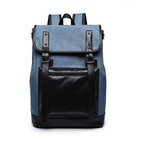 2017 New Korean Europe Style Male Canvas Backpack High Capacity Travel Bag Laptop Backpack Men School