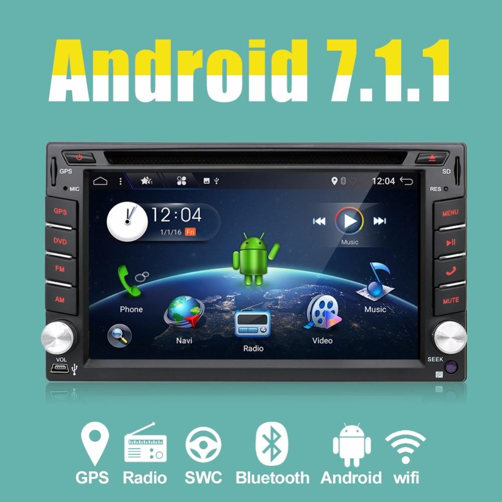 2 din android 4.4 Car DVD GPS Navigation Quad 4 Core Car Stereo Radio Car GPS 3G Wifi Bluetooth USB/SD Universal Player