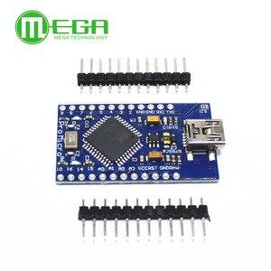 Image 3 - 5 pièces Pro Micro ATmega32U4 5V/16MHz Module avec 2 rangées de broches en tête MINI USB MICRO USB pour Arduino