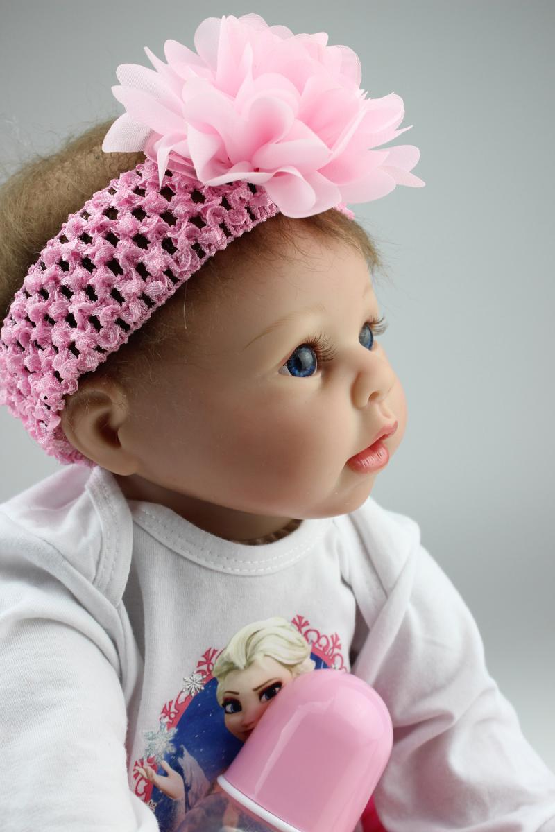 Free Shipping Doll 55Cm Baby Growing Partner Accompany -8760