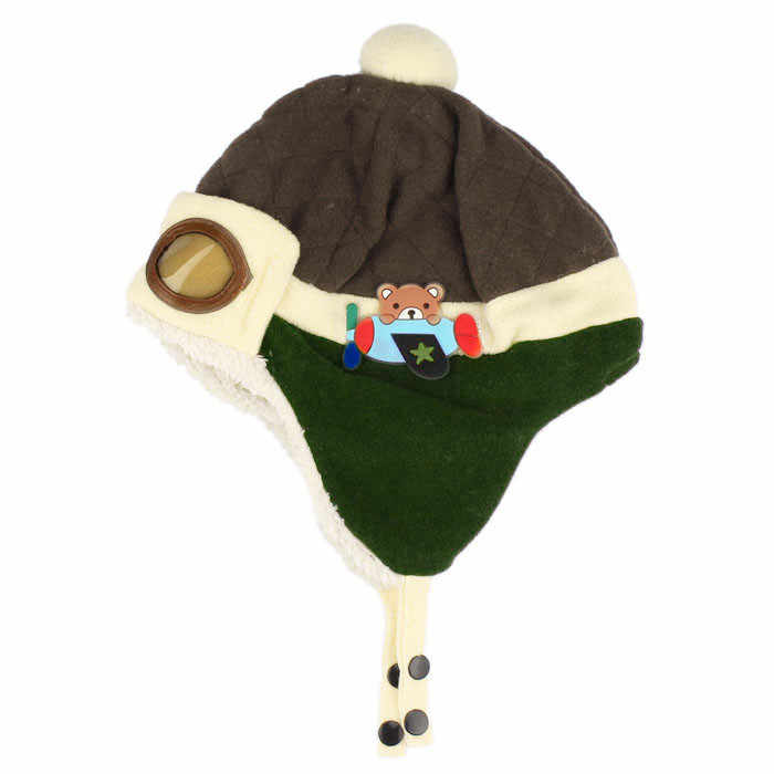 9e197cdc43f ... 10 to 48 Months Baby Winter Hat 4 Colors Toddlers Cool Baby Boy Girl  Infant Winter