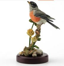 head Arts Crafts deer British designer American Robins and alfalfa flowers are decorated with festive gifts