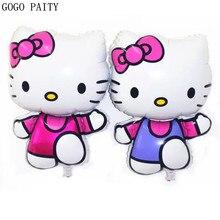 GOGO PAITY Free Shipping New New vest Kitty cat aluminum balloon ball font b toys b