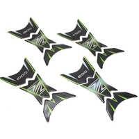 3D Z emblema pegatinas de protección de combustible de motocicleta de combustible Protector para almohadilla de depósito calcomanías para Kawasaki Z1000 Z900 Z800 Z750 Z650 Universal