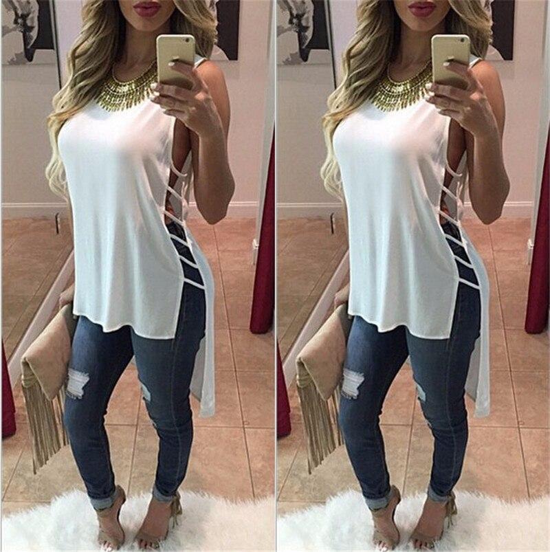 Aliexpress.com : Buy Women Summer Hollow Out T Shirt Dress White ...