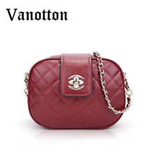 2016 brand women's pu leather small bags for women handbag fashion diamond lattice woman shoulder bag women messenger bags
