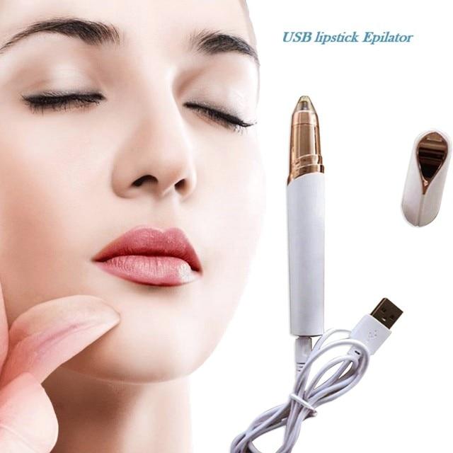 USB kablosu Taşınabilir Boyutu Kaşlar Elektrikli Çıkarıcı Kaş Tıraş Makinesi Ağrısız Saç Çıkarıcı Yüz Kaş Epilatör