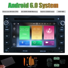 Android 6.0 Восьмиядерный dvd-плеер автомобиля для VW Passat B5 Гольф 4 поло Бора Jetta Sharan T5 RDS WI-FI 2 г Оперативная память 32 ГБ INAND FLSH