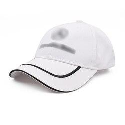 Chapéu de beisebol branco para mercedes benz algodão camionista chapéus marca pico boné bordado sunhat ao ar livre casquette presente das mulheres dos homens