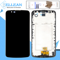 Catteny For LG K10 K430 K430DS K420N 420N Lcd With Frame For LG K10 Display Touch Screen Digitizer Assembly Without IC 1Pcs+Tool