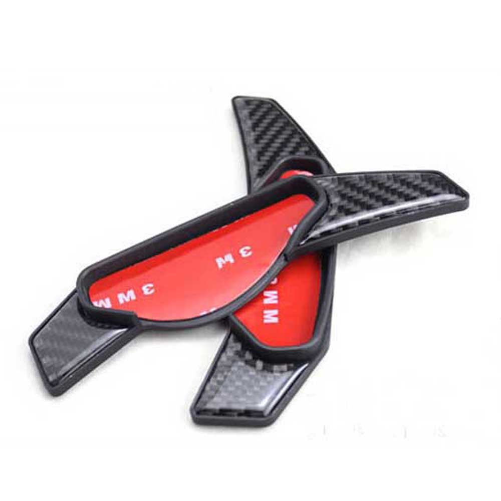 Replacement Part for range rover sport defender carbon fiber CF Steering Wheel Hubs gear shift paddles head sticker cover