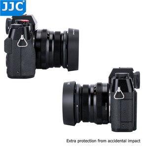 Image 4 - JJC Bayonet 라운드 카메라 렌즈 후드 43mm 스레드 크기는 FUJINON 렌즈 XF35mm/25mm F2 R WR 용 Fujifilm LH XF35 2 대체합니다.