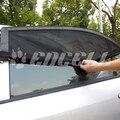 Coche Universal cubre el estilo de tela de protección solar Car Sun Visor cortinas película de la ventana de coche dom sombra negro tamaño M