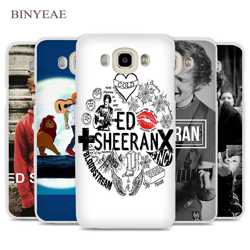 BINYEAE ed sheeran funny anime Cell Phone Case Cover for Samsung Galaxy J1 J2 J3 J5 J7 C5 C7 C9 E5 E7 2016 2017 Prime