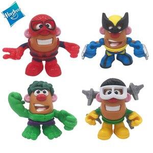 Hasbro działania figurki do zabawy Marvel DIY montaż Avengers 4 lalki Spider-Man Octopus Dr Hulk Wolverine lalki zabawki dla dzieci
