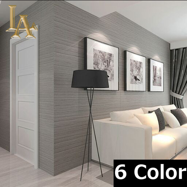 buy nonwoven wall covering simple textured striped wallpaper modern home decor. Black Bedroom Furniture Sets. Home Design Ideas