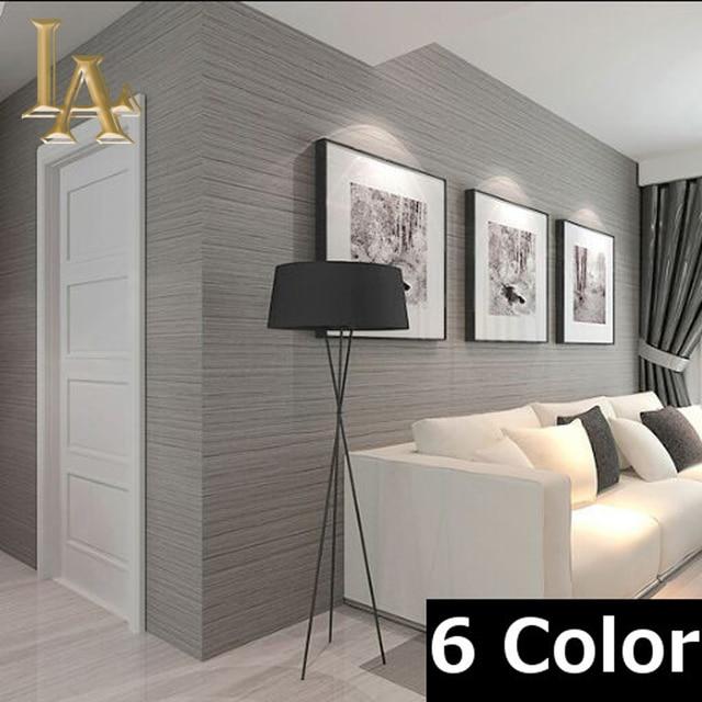 Aliexpress.com : Vlies Wandverkleidung Einfache Strukturierte ... Wohnzimmer Beige Grau