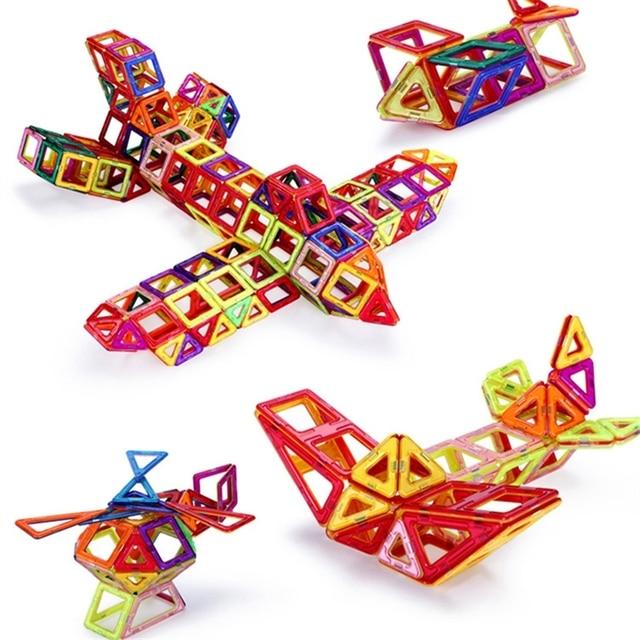 108 pcs Standard Size DIY Magnetic building blocks magic magnet pulling magnetic building blocks assembled gifts for children