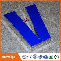 3D Custom Resin Led Letter Frontlit Channel Letter For Outdoor