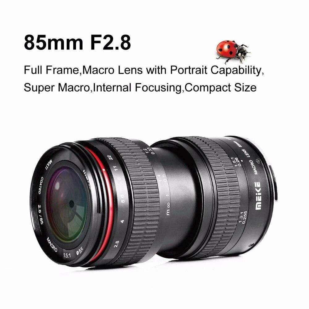 MK 85mm f/2.8 Manual Focus Full Frame Medium Telephoto 1.5:1 Macro ...
