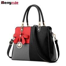 Women's bag 2017 new tide bag women leather handbags ladies  Messenger bag shoulder bag