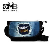 Dispalang mannen messenger bags mode mannelijke sigle-schoudertas multifunctionele mens mini crossbody tas nieuwe denim afdrukken reistas