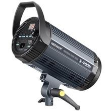 Neewer Flash Lumière Stroboscopique Monolight 400 W GN60 5600 K avec Modélisation Lampe pour Studio Emplacement Modèle Photographie (S400N) UE Plug
