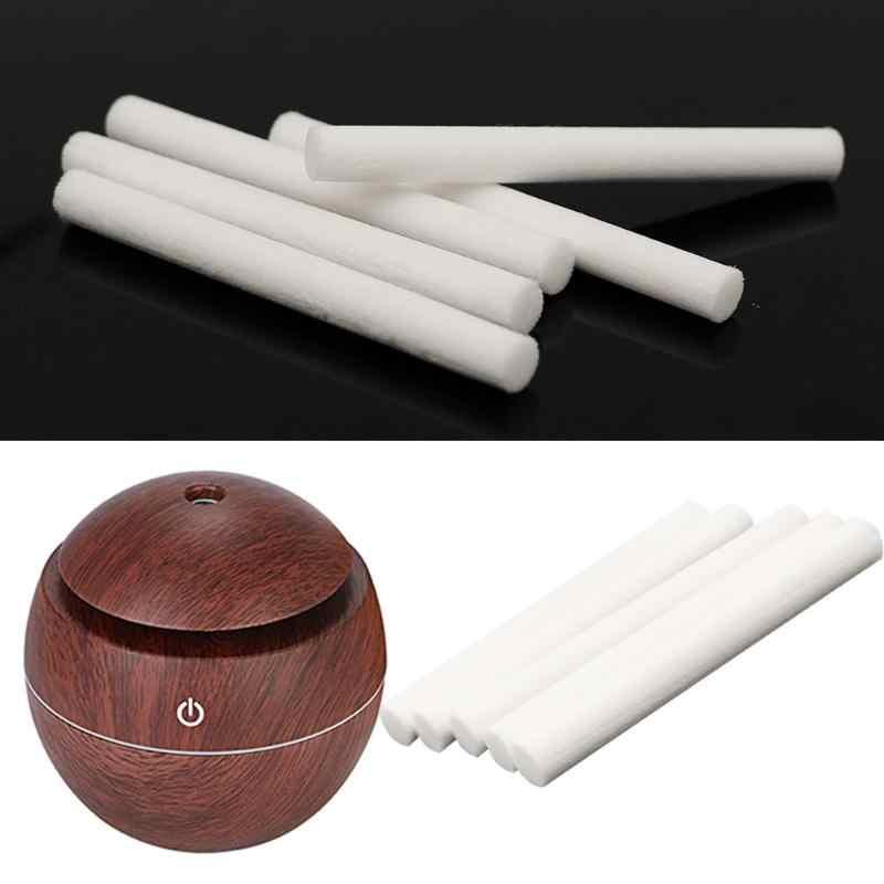 5 cái/gói Tạo Độ Ẩm Thay Thế Bộ Lọc Cotton Sponge Stick cho USB Tạo Độ Ẩm Aroma Diffuser Mist Maker Tạo Độ Ẩm Không Khí