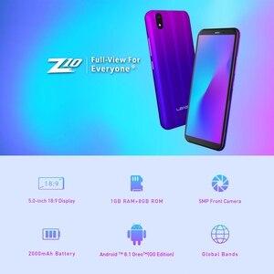"""Image 2 - LEAGOO Z10 telefon komórkowy 5.0 """"18:9 pełny ekran Android 8.0 1GB RAM 8GB ROM MT6580 czterordzeniowy aparat 2000mAh Dual SIM 3G Smartphone"""