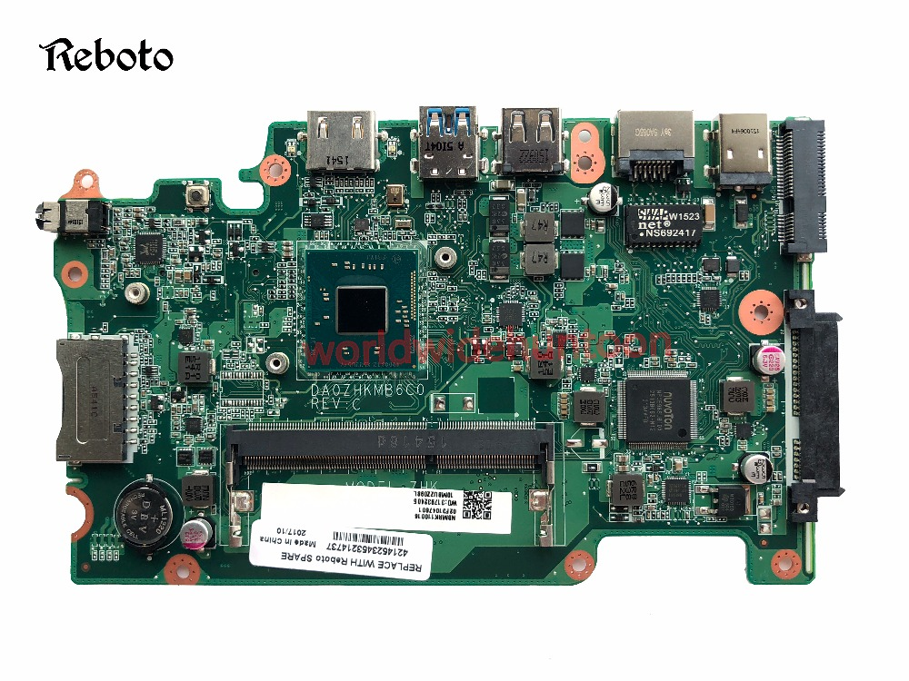 Classy Motherboard For Acer Aspire ES1-111 E3-112 V3-112P Motherboard with CPU N2840 SR1YJ DA0ZHKMB6C0 Fully Tested