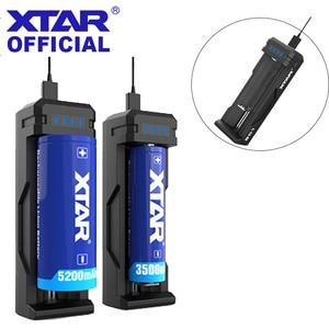 Image 1 - XTAR cargador USB SC1, cargador rápido recargable, 18700/20700/21700/22650/25500/26650, batería de ion de litio, LED, 18650