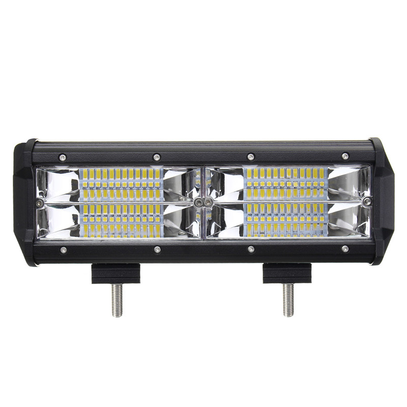 144W 21600LM 7inch 8D LED Work Light Bar Flood Lamp Driving Lamp For Jeep SUV ATV Offroad 4WD IP67 DC10-30V 1pcs 10 30v dc 40w 4 cr led 6000k 4 3 inch led work light for project vehicles suv excavators wheel loaders ce rohs ip67