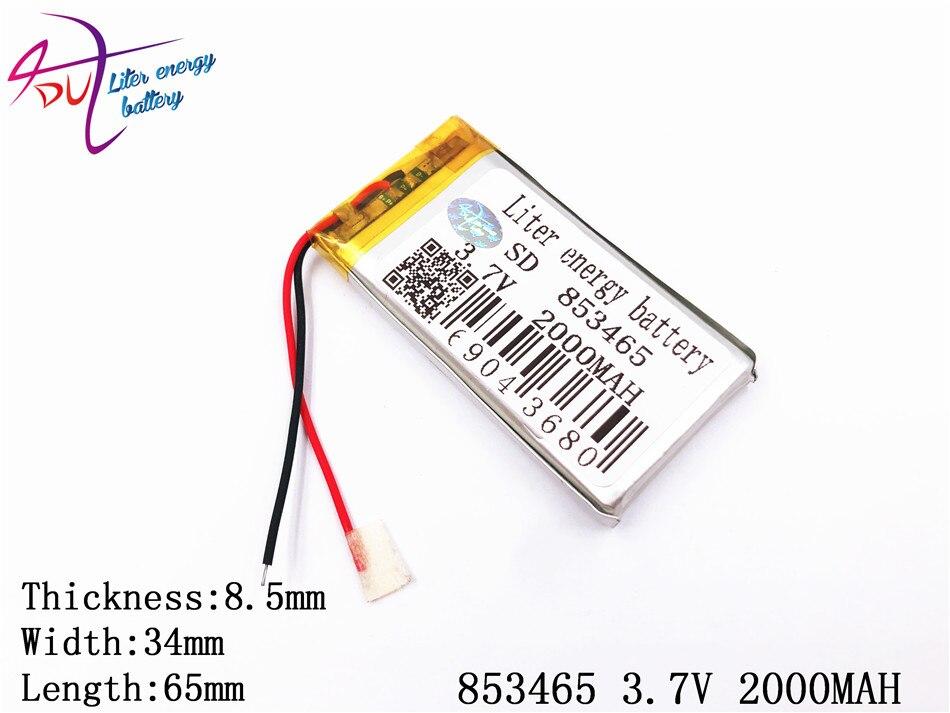 Cube Power Bank Handy Die Nieren NäHren Und Rheuma Lindern Pipo 3,7 V 2000 Mah 853465 Polymer Lithium-ion/li-ion Batterie Für Tablet Pc