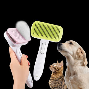 Pet-Products Hair-Brush-Remover Toll Dogs Grooming Automatic for Dog-Cat-Comb High-Quality