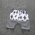 2017 Cactus Stripe Summer Children Kids Baby Boys Loose Harem Pants Shorts Cool Cotton Boys Shorts 1-5Y