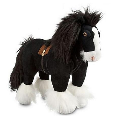 Brave Merida Pricness Angus Plush Animal Dolls Children Toys Dolls For Girls 35cm(NO Belt On The Back)