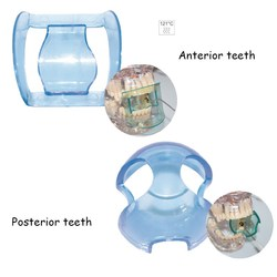 20pcs Dental Autoclavable Sterilized Lip Retractor Cheek Expander Mouth Opener For Anterior/Posterior Teeth Oral Care Tool Blue