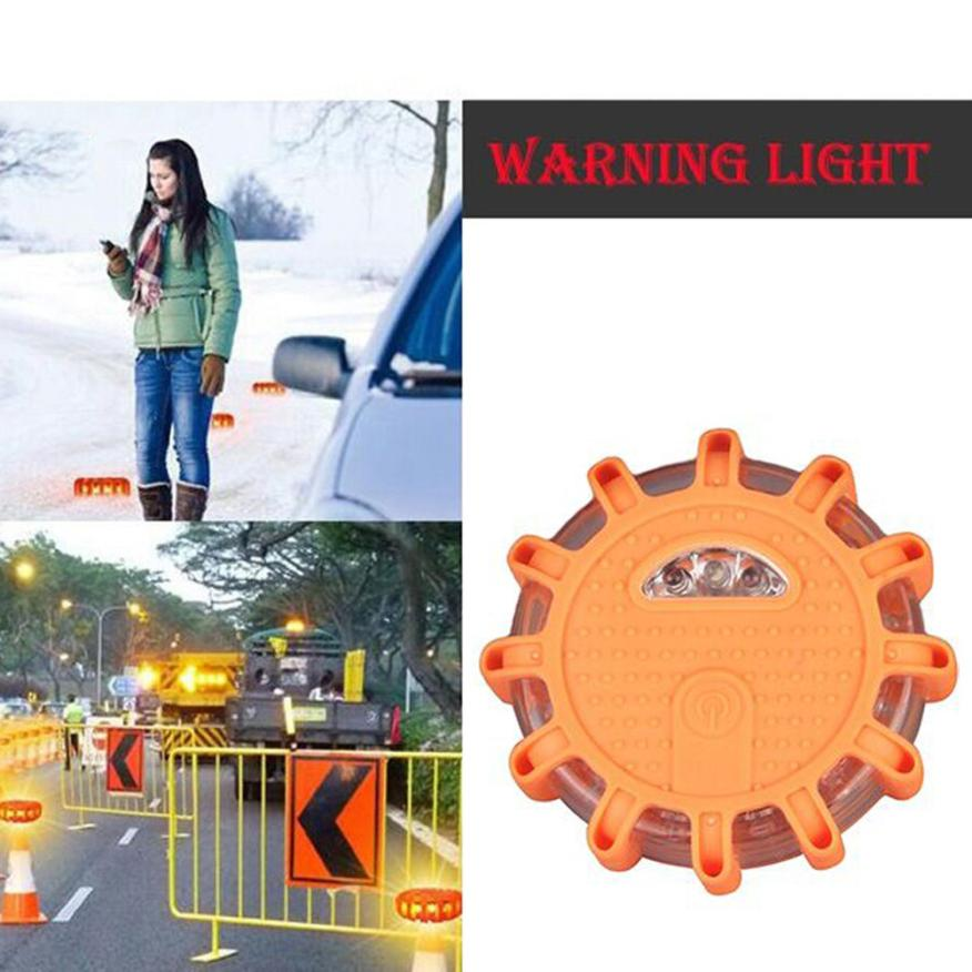 HAMBODER Portable LED Flash Traffic Warning Light Super Bright Crush Resistance Apr12 Drop Shipping