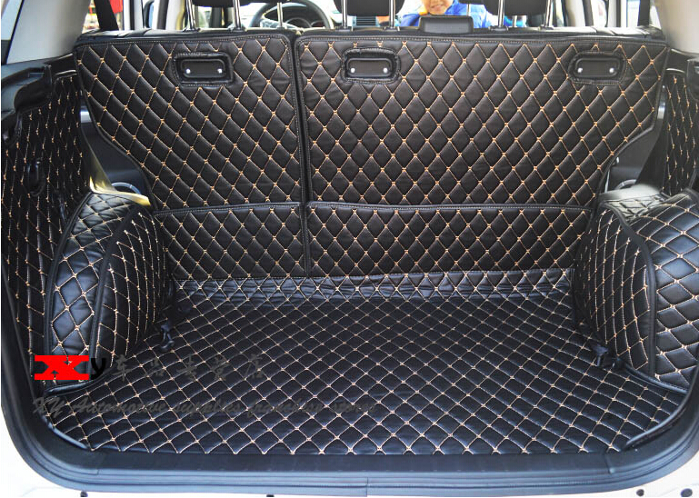 Good quality! Special car trunk mats for Suzuki Grand Vitara 2015-2007 waterproof cargo liner mats boot carpets,Free shipping conquest s8