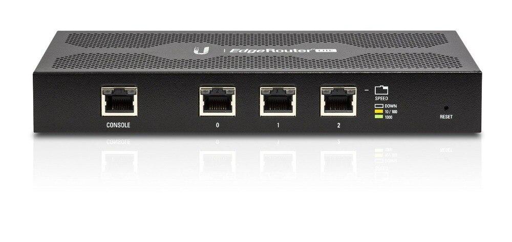Ubiquiti EdgeMax EdgeRouter Lite 3 ERLite-3 512 mo de mémoire 3 Ports Ethernet routeur