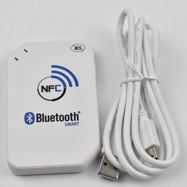 ACR1255U 13.56 mhz RFID lecteur de carte écrivain Interface USB pour lecteur sans fil Android Bluetooth NFC