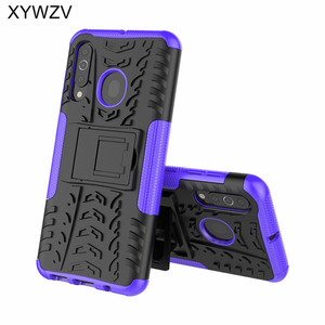 Image 3 - For Samsung Galaxy A60 Case Shockproof Armor Soft PU Silicone Hard PC Phone Case For Samsung Galaxy A60 Cover For Samsung A60