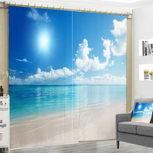 French Country Curtains Luxury Blackout Window Curtain Living Bedroom Decorate The Blue Sky Cortina D