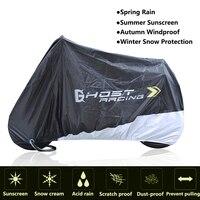 Universal Motorcycle Cover Bike Waterproof Dustproof UV Protective Outdoor Indoor Moto Scooter Motorbike Rain Cover