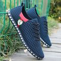 2017 New Men's Fashion Shoes Summer Zapato Casual Breathable Mesh Flat Shoes Exercise Jogging Men Shoes Breathable Footwear